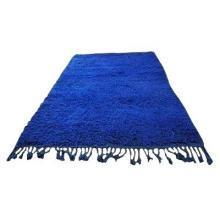 Синяя ковровая дорожка